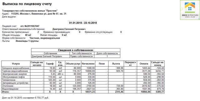 В России появится единая база плательщиков за коммунальные услуги