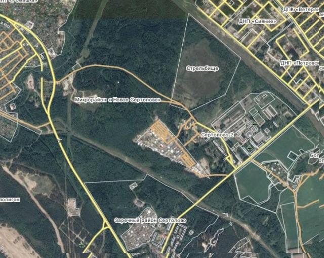 В Сертолово под Петербургом построят новый микрорайон