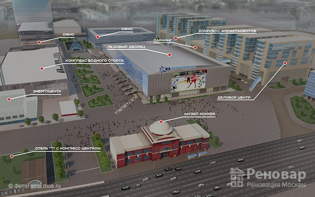 В Москве в промзоне ЗИЛ построят квартиры для 30 тысяч человек