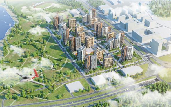 ЛСР построит в Екатеринбурге три новых ЖК