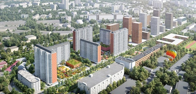 В Москве построят ЖК рядом с парком Кусково