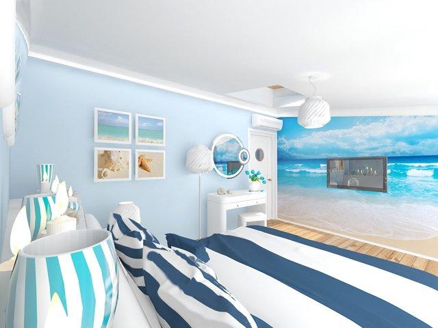 Простые приемы для интерьера в морском стиле