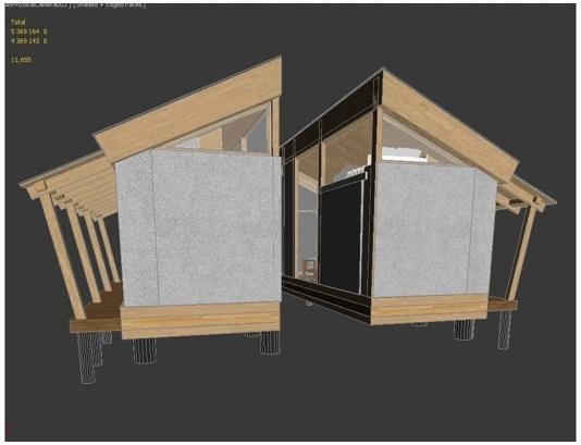 Дом из соломы и глины разработали для Дальнего Востока