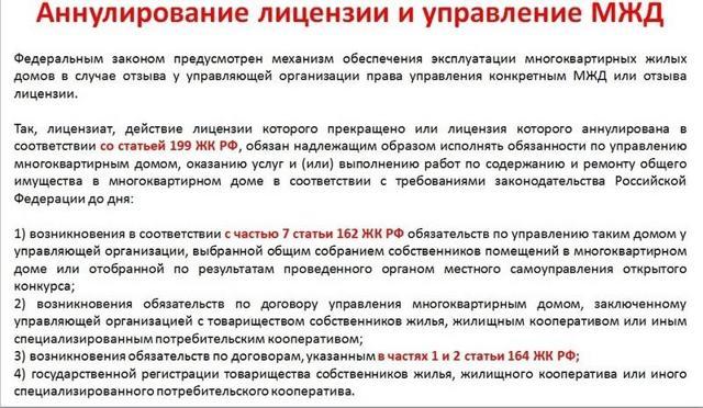В России управляющая компания впервые лишилась лицензии