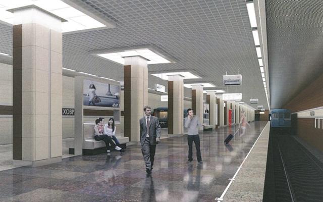 Станцию метро «Беломорская улица» в Москве будут строить уникальным способом